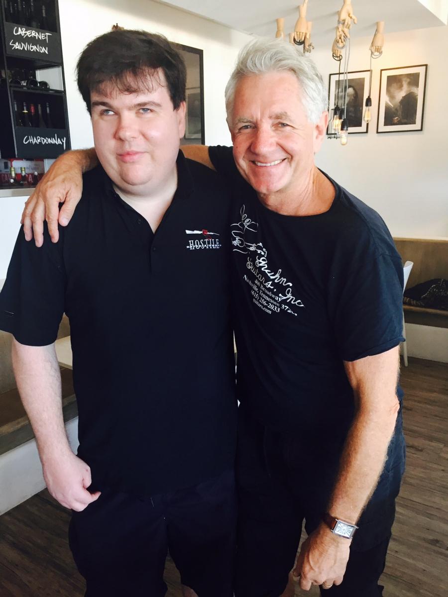 David Dean with Dennis Dunstan